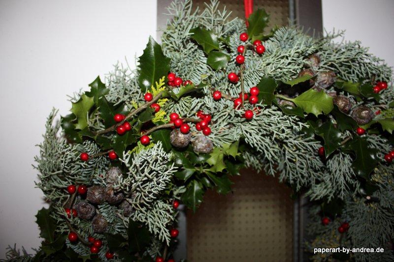 Weihnachtliche dekoration paperart by andrea for Weihnachtliche dekoration