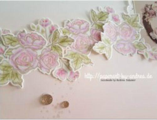 Hanna im Blütentraum…