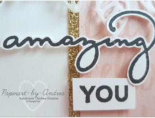 Amazing You…