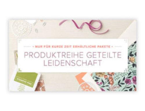 Die ersten neuen Produkte…